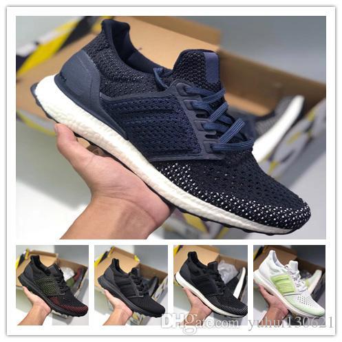 check out f068d fbba0 Acquista Con Scatola UltraBoost 3.0 4.0 Uomo Donna Scarpe Da Corsa Triple  Nero Bianco CNY Oreo Blu Ultra Shoes Sneaker Sportivo Eur 36 45 A  35.42  Dal ...