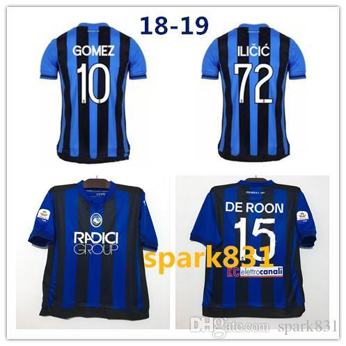 Serie A 18 19 Atalanta B.C. INICIO Camiseta De Fútbol 2018 2019 Jersey  Adulto CORNELIUS 9 CRISTANTE 4 GOMEZ 10 GOSENS 8 Camiseta De Fútbol Por  Spark831 61c1607acc6da
