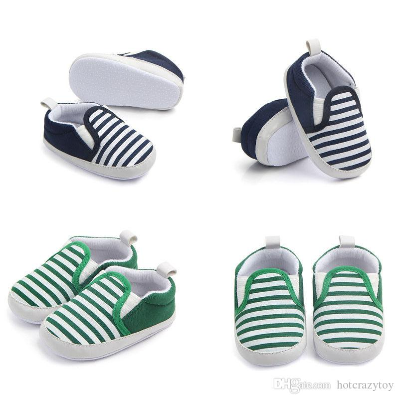 Gift for Baby Boys Girls Cotton Casual Laces Crib Shoes Fashion Soft Sole Shoes