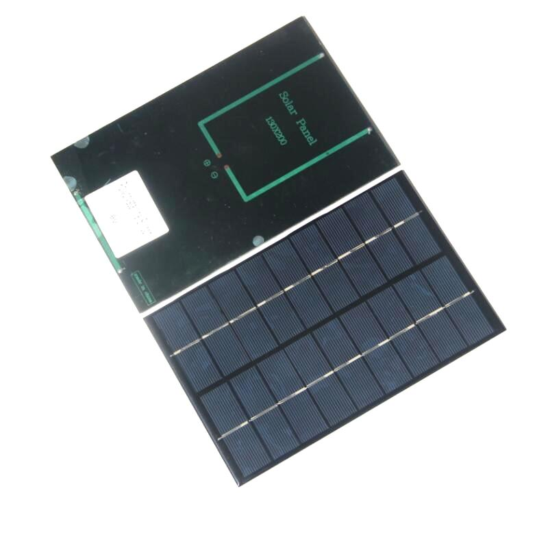 Wholesale! 4.2W 9V Polycrystalline Solar Cell Module Solar Panel For Charging Battery DIY Solar Charger 130*200MM