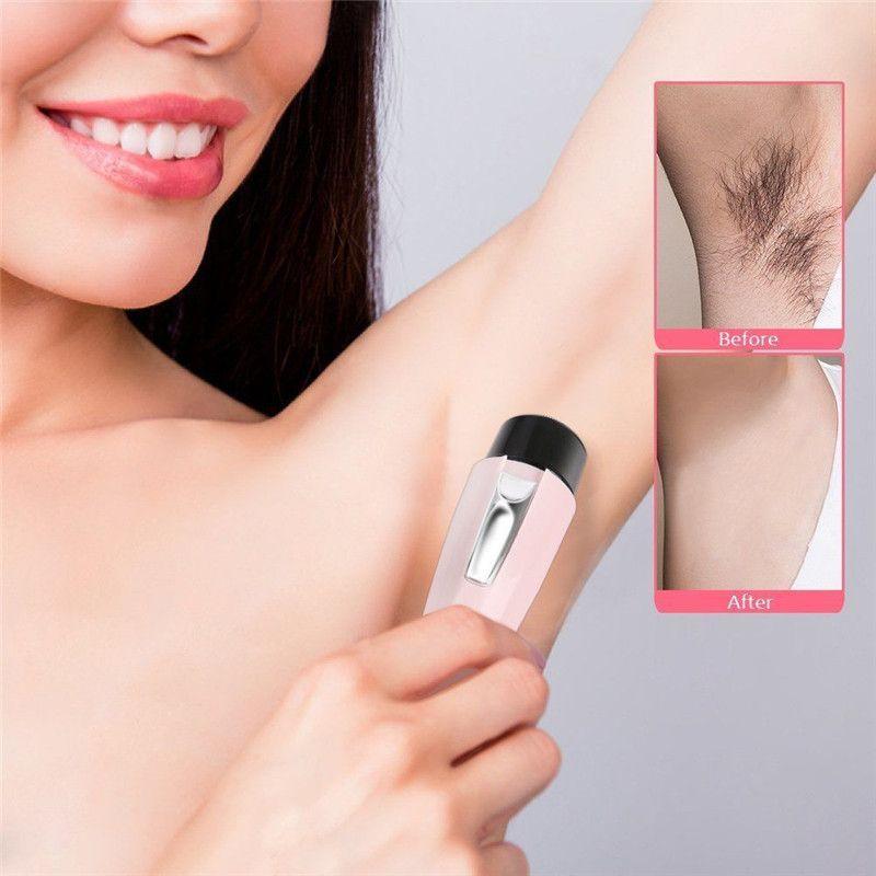 المحمولة الكهربائية الجسم مزيل الشعر إزالة الشعر لنزع الشعر الوجه المتقلب إزالة الشعر لنزع الجمال الإناث