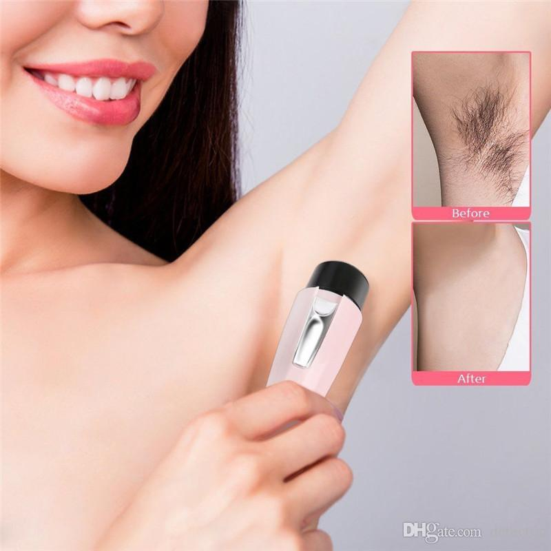 Portable Electric Body Hair Remover Women Hair Removal Epilator Facial Trimmer Depilation For Female Beauty Epilator