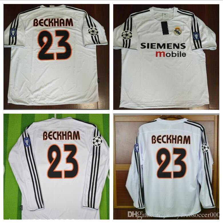 6667157a31a 2003 2004 Real Madrid Jersey Retro Vintage Classic 03 04 ZIDANE ...