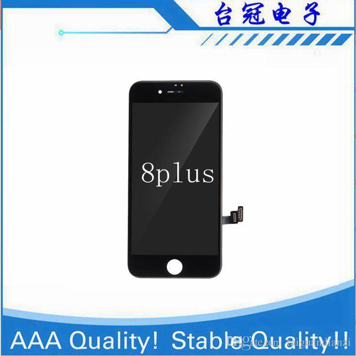 IPhone 8 p 8 artı LCD 3D Dokunmatik 100% Garanti Ile Hiçbir Ölü Piksel Ekran Değiştirme Yüksek Kalite Ekran