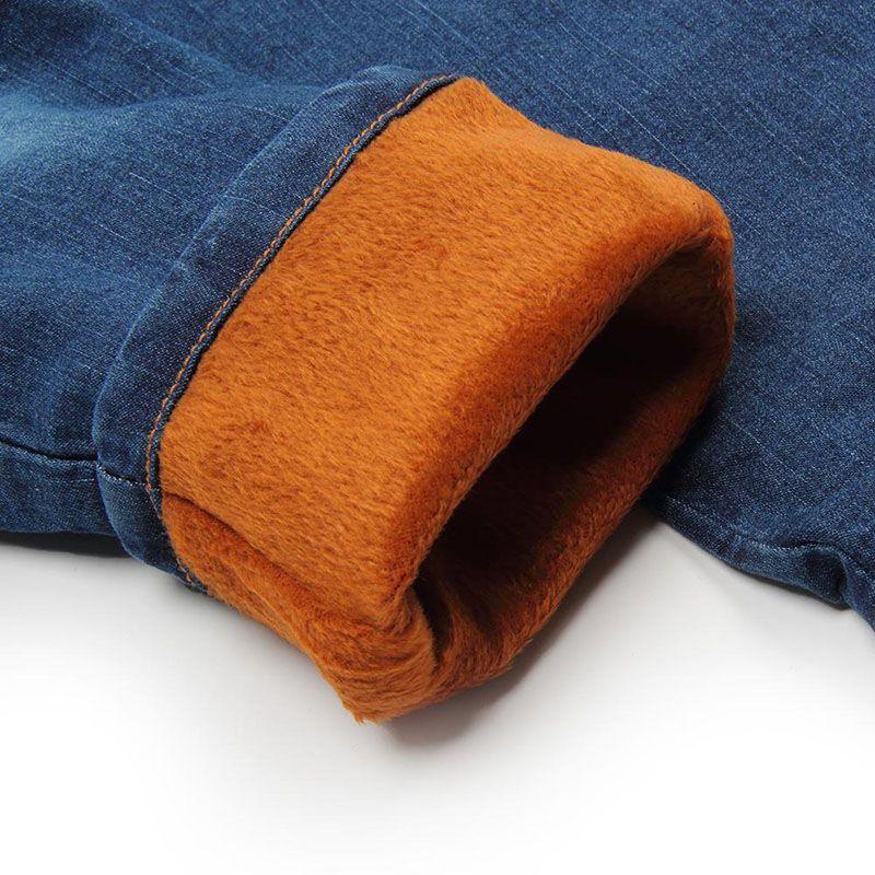 Cute Cartoon Pattern Kids Jeans 2018 Spring Autumn Winter Lovely Cat Children Denim Pants Casual Trousers Baby Girls Warm Jeans