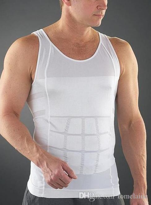 En gros Slim Humidité Minus la bière ventre formant des sous-vêtements Abdomen Body Sculpting Gilet Shapers Body Sculptant T-shirt Body Shaper