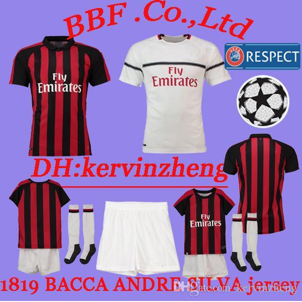 6789527dc Thailand 2019 Soccer Jerseys ANDRE SILVA Kids Kit BACCA SUSO HIGUAIN ...