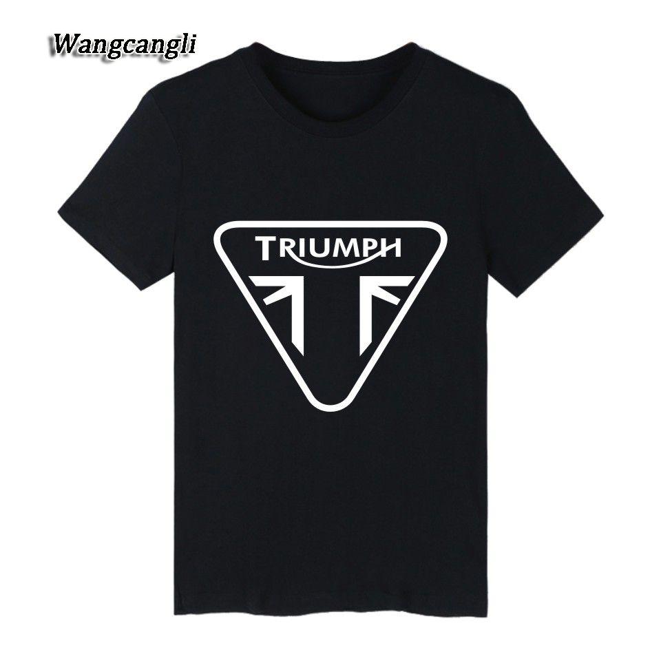 Funny Triumph T Shirt Men Street Wear Style Common White Short ...