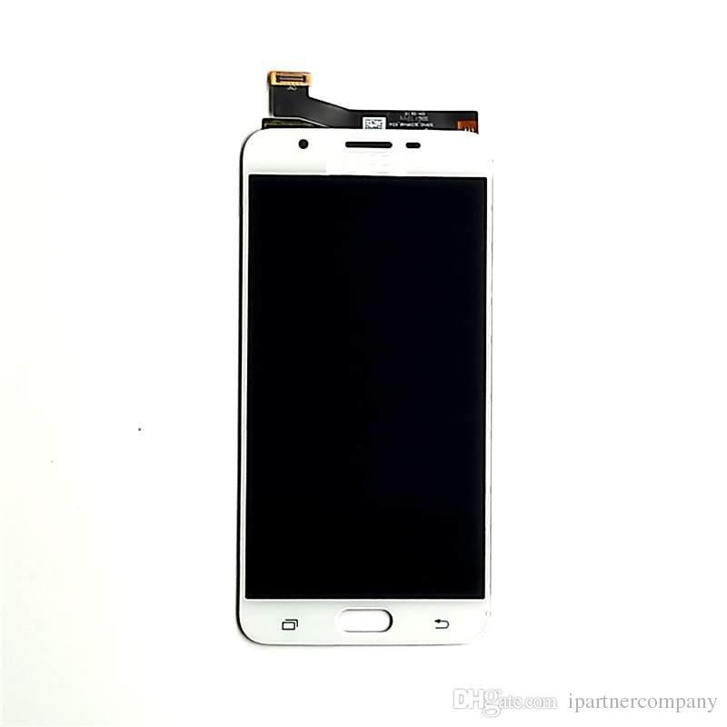 Samsung Galaxy J7 Prime LCD G610F G610K G610L G610S G610Y Display LCD Digitizer Touch Screen Assembly con strumenti di riparazione gratuiti