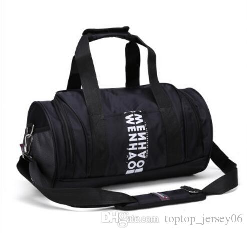 e1c966882af 2019 Korean Version Of Dry And Wet Separation Exercise Bag Fitness Bag,  Women S Shoes Training Bag, Handbag Travel Bag, Male Cylinder Yoga Bag Ti  From ...