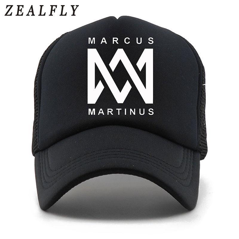 Compre MARCUS MARTINUS 5 Paneles Gorra De Béisbol De Verano Gorra De Malla  Ocasional Hombres Sombrero Del Snapback Para Mujeres Casquette Gorras A   24.87 ... 150717a409c