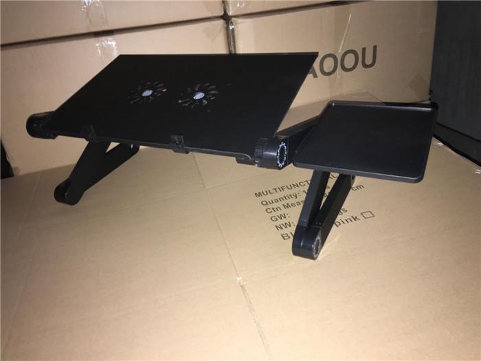 Neue ankunft 360 Roate Grad Faltbare Einstellbar Laptop Schreibtisch Computer Tisch Stehen Schreibtisch Bett Tablett