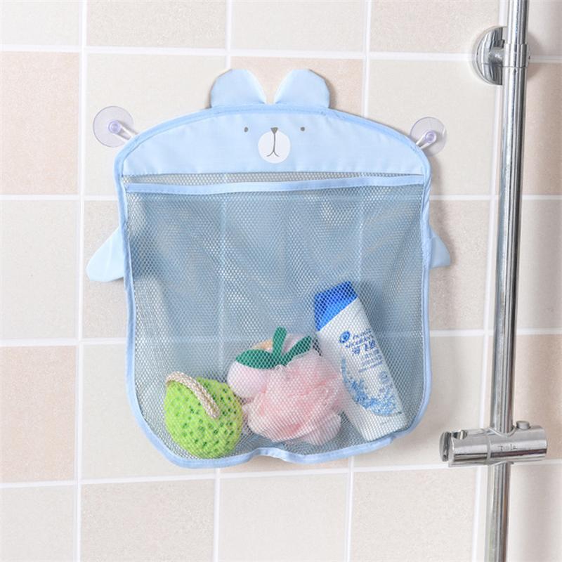 2018 2017 Fashion Baby Bath Toy Mesh Storage Bag Bathtub Doll Basket ...