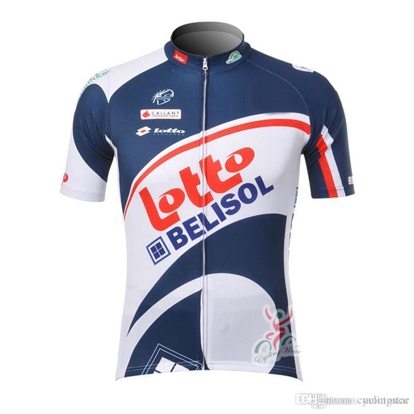 aa1167ecb 2018 New Lotto Men Cycling Jersey Tour De France Mtb Bicycle Maillot ...