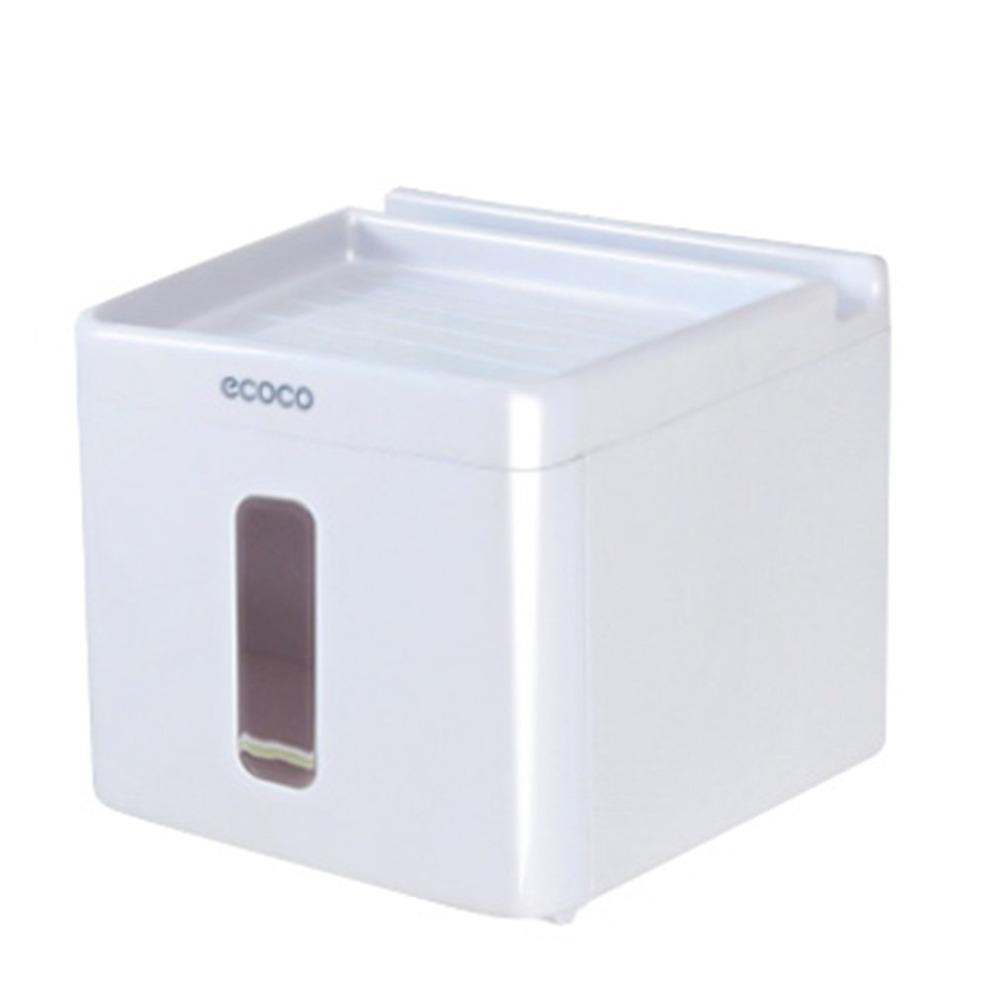 Grosshandel Nailless Paste Bad Tissue Box Kunststoff Aufbewahrungsbox