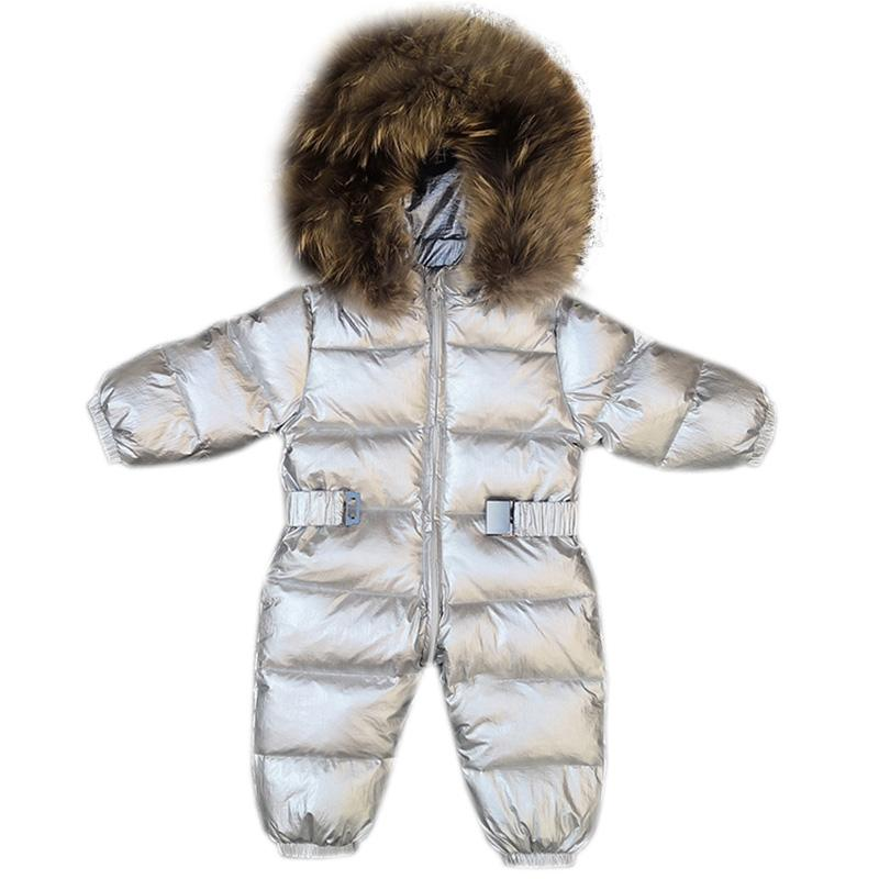 cd489679b4e2 Snowsuit 30 Degrees New Winter Coat Baby Wear Newborn Snowsuit Fotografia  Boy Warm Romper Down Girl Clothes Childrens Overalls Boy Coat Best Kids  Winter ...