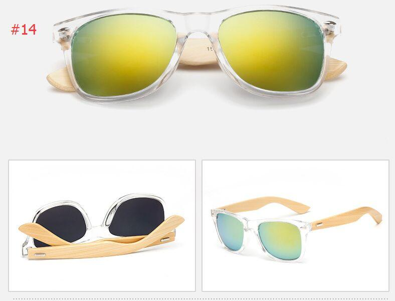 Wood Foot sunglasses Radiation bamboo foot sunglasses men and women classic color film bamboo bamboo polarized sun glasses frames
