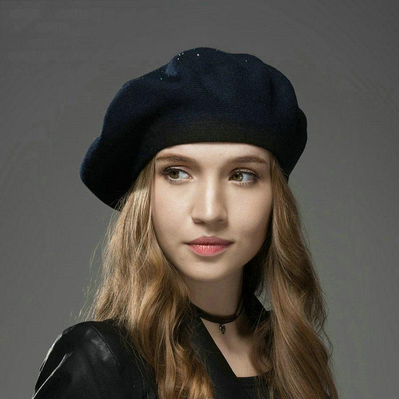 2019 Autumn Winter Wool Berets Har Keep Warm Beere Wool Femal Hat Woman  Fashion Painter Hat Hot Drill Beret Wholesale From Ever1314 23f791c6772