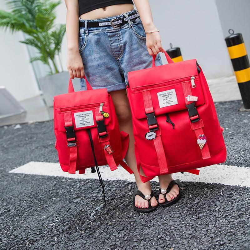2018 Backpack Girl School Bags Zipper Kid School Bag Cute Children Knapsack  Bag For Girl Fashion Travel Parent Child Bags Swiss Gear Backpack Osprey ... ec0a6afa61b10