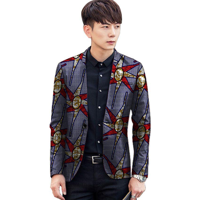 2732530da9 African fashion blazers man dashiki suit jacket custom african print blazer  party mens Africa clothing for weddiing