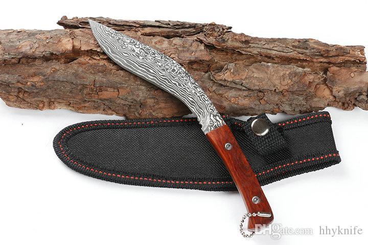 Outdoor Küchenmesser : Großhandel drop verschiffen fixed blade küchenmesser obstmesser