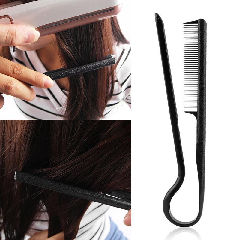 Coupe de cheveux en forme de v