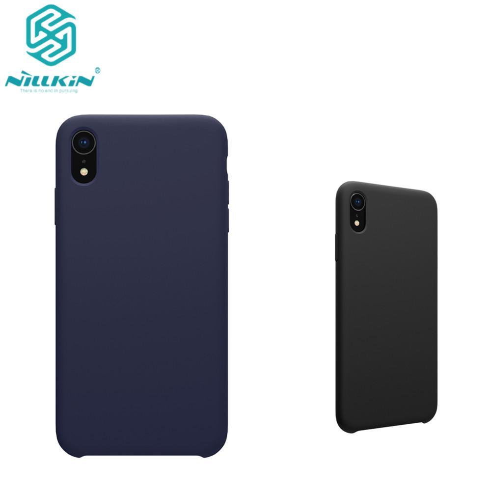 nillkin iphone xr  for Apple IPhone XR Case Cover Nillkin Liquid Silicone Flex Pure ...