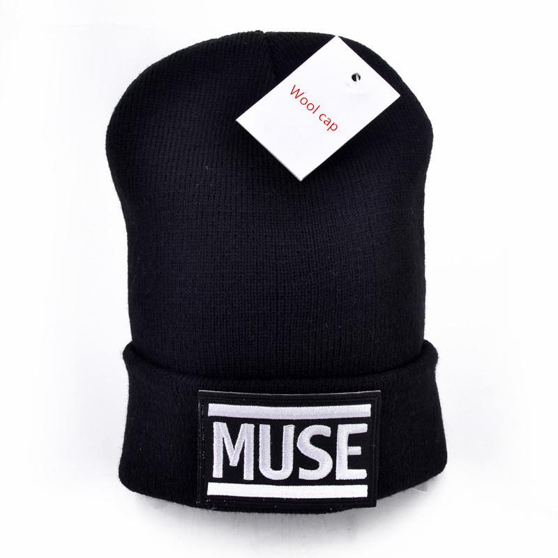 577d26079eb Muse Logo Wool Beanies Knit Men S Winter Hats For Men Women Beanie Warm Hat  Crochet Hat Cotton UK 2019 From Hongmihoutao