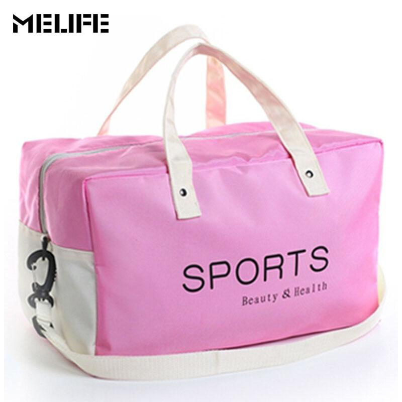 MELIFE Waterproof Sports Fitness Bag Large Capacity Gym Bags Women ... 869815e258
