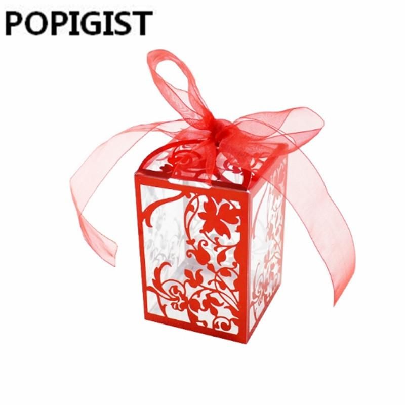 Pink Red Baby Shower Gift Box Diy Creative Candy Box Romantic