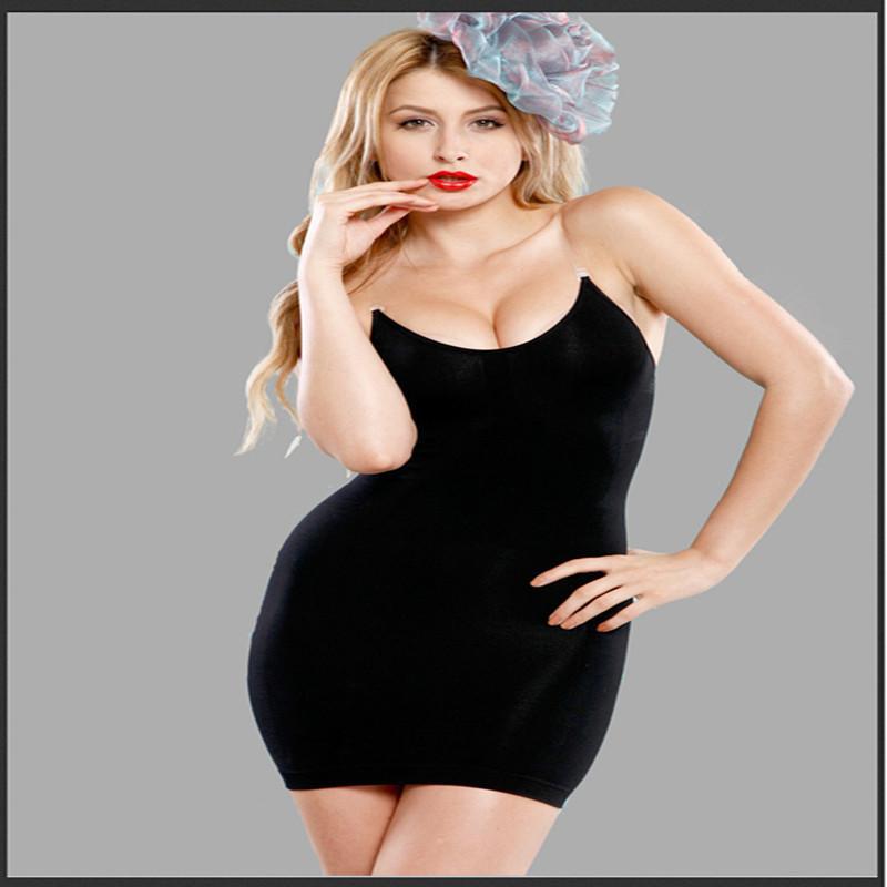 8bb294da185d 2019 Sexy Body Shaper Control Slip Dress Shapewear Women Body Slimmer  Spaghei Strap Party Bodycon Dress Nightclub From Ladylbdcloth, $26.51    DHgate.Com