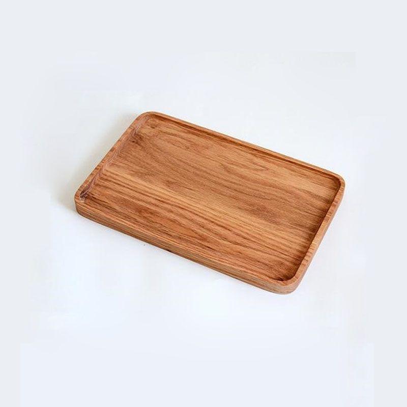 Japan Style Wooden Trays Cake Plates Creative Retro Sushi Baking Tea Serving Trays Woodware Rectangle/Square/Oval ZA6144