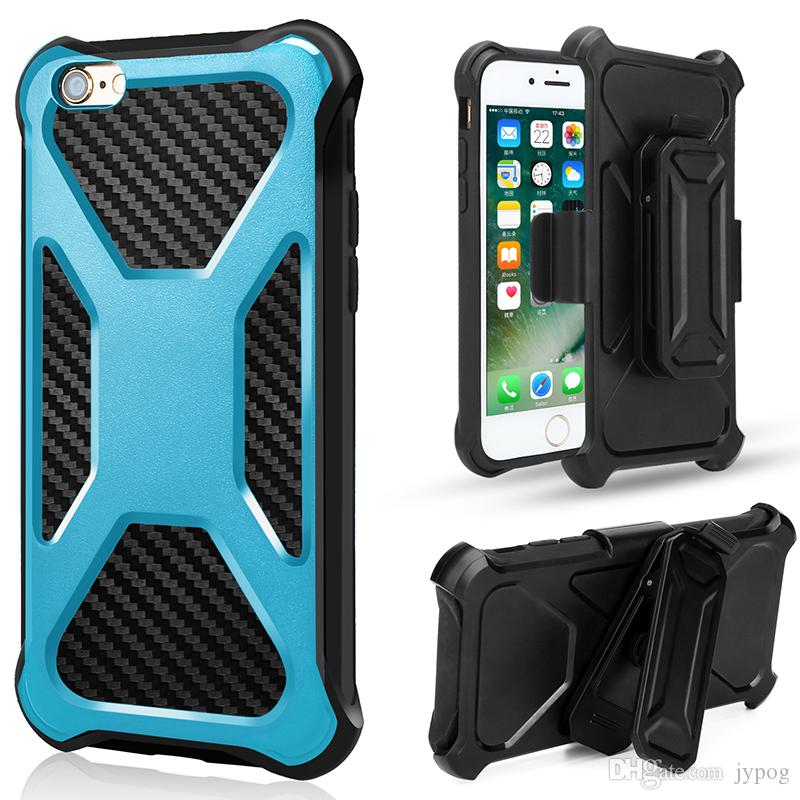 For iPhone XS XR Defender High Impact Hard Rugged Phone Case with Dust Plug and Swivel Belt Clip Case for iPhone XS MAX