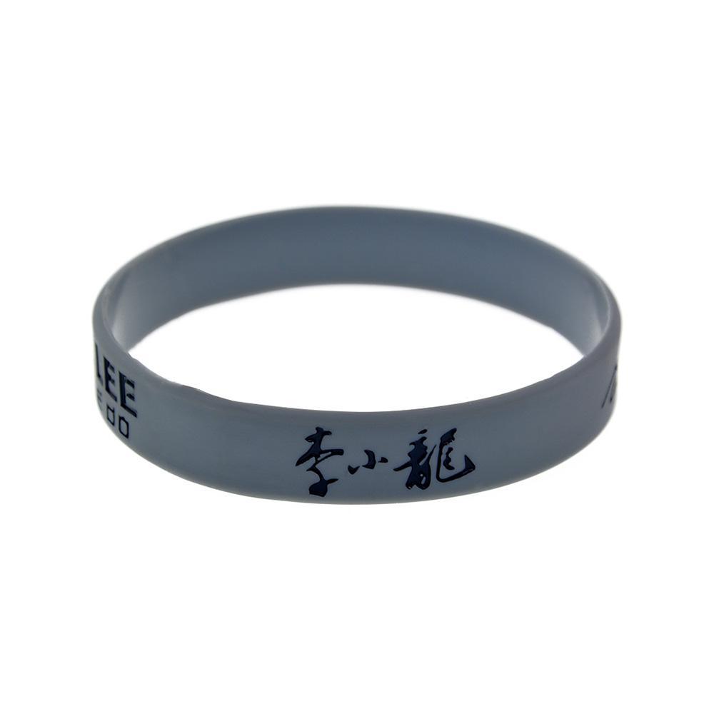 Брюс Ли Джит Кунедо Силиконовый браслет способ показать свой кумир, носить этот вид браслета