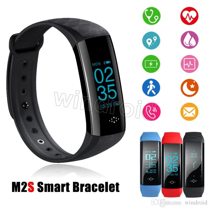 Men's Watches Humorous Smartbands Sports Bracelet Heart Rate M3c Bracelet Wristband Fitness Tracker Blood Pressure Monitor Android Ios Pk Mi Band 2 3