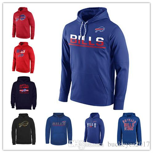 Buffalo Bills Sideline Circuit Red Practice Performance Blue Sweatshirt Pro  Line Black Gold Collection Pullover Printing Hoodies