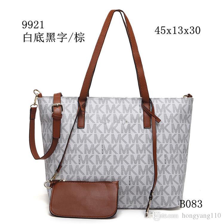 b78ada6236f8 2018 Fashion Womens Leather Bag European Designer Micaels Handbags ...