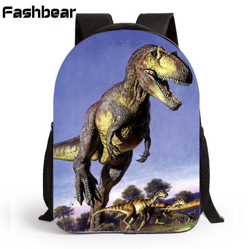 Children Kindergarten School Bags 12 InchToddler Dinosaur BackpacKids  Schoolbag Bag Printing Zoo Preschool Backpack For Boys Toddler Backpacks  Cheap ... 8a95d17b7515b