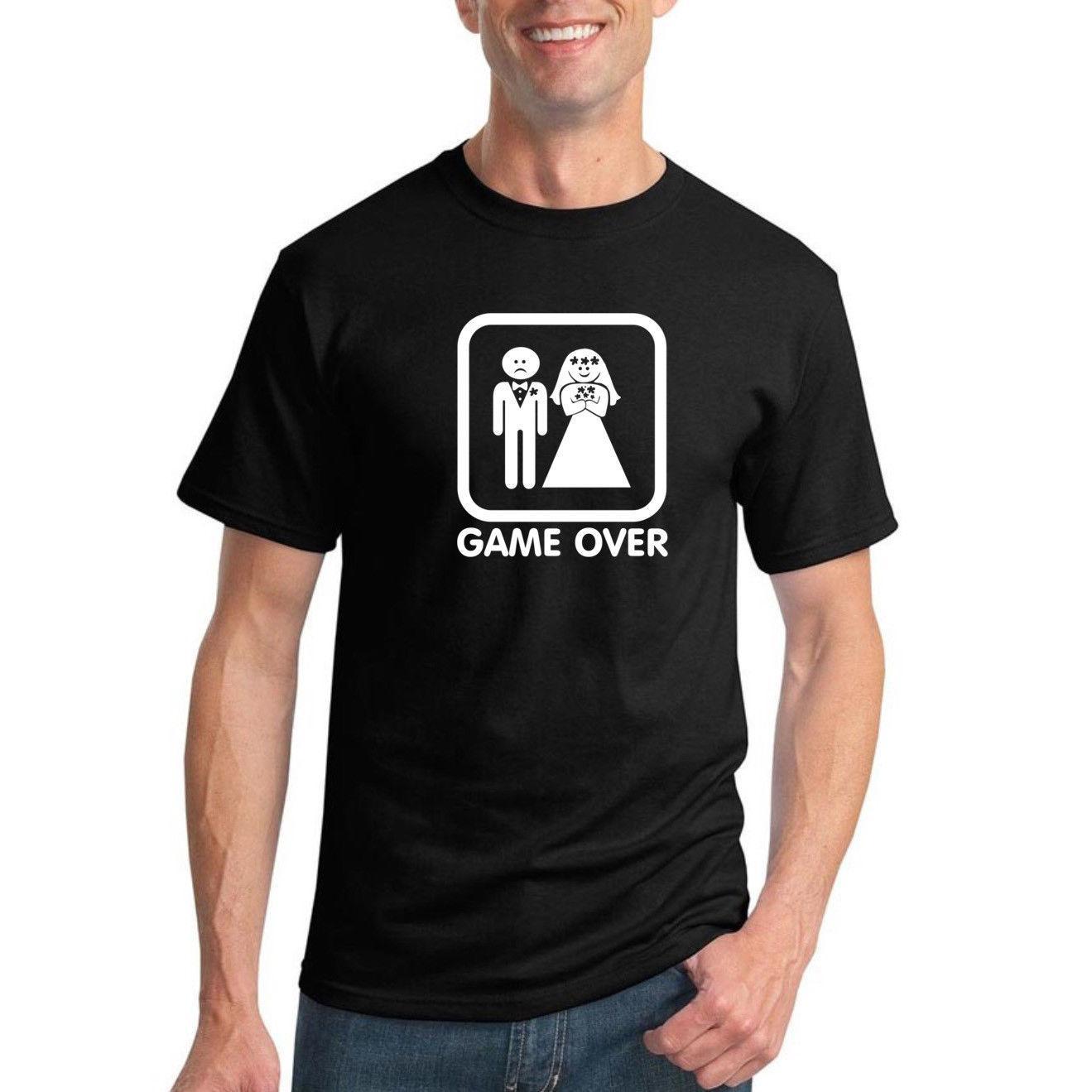 Großhandel Spiel Über Lustige Hochzeit Geschenk T Shirt Mens Grafik Humor  Neuheit Tee Von Csndicestore,  11.95 Auf De.Dhgate.Com   Dhgate 97370cd863