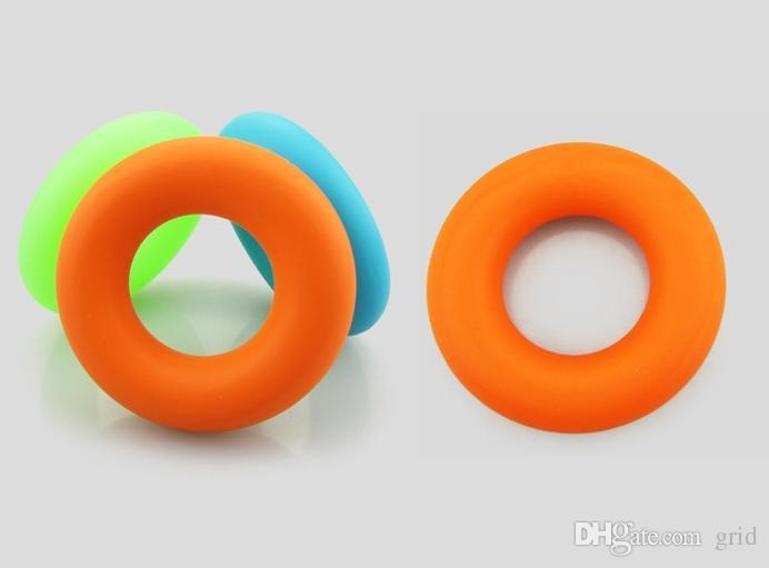 7 см диаметр сила рука сцепление кольцо мышцы мощность обучение резиновое кольцо тренажер тренажерный зал Expander захват палец кольцо 100 шт.