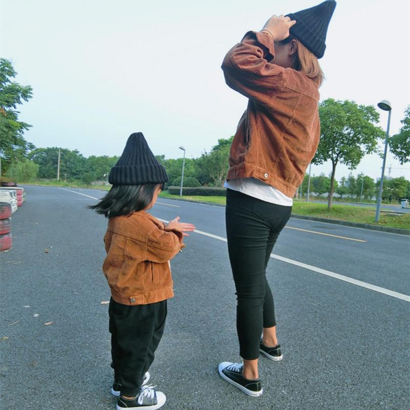 Children's Boys Jacket Autumn Mommy Baby Mother Son Outfits Mother and Daughter Clothes Autumn Coats Family Matching Outfits