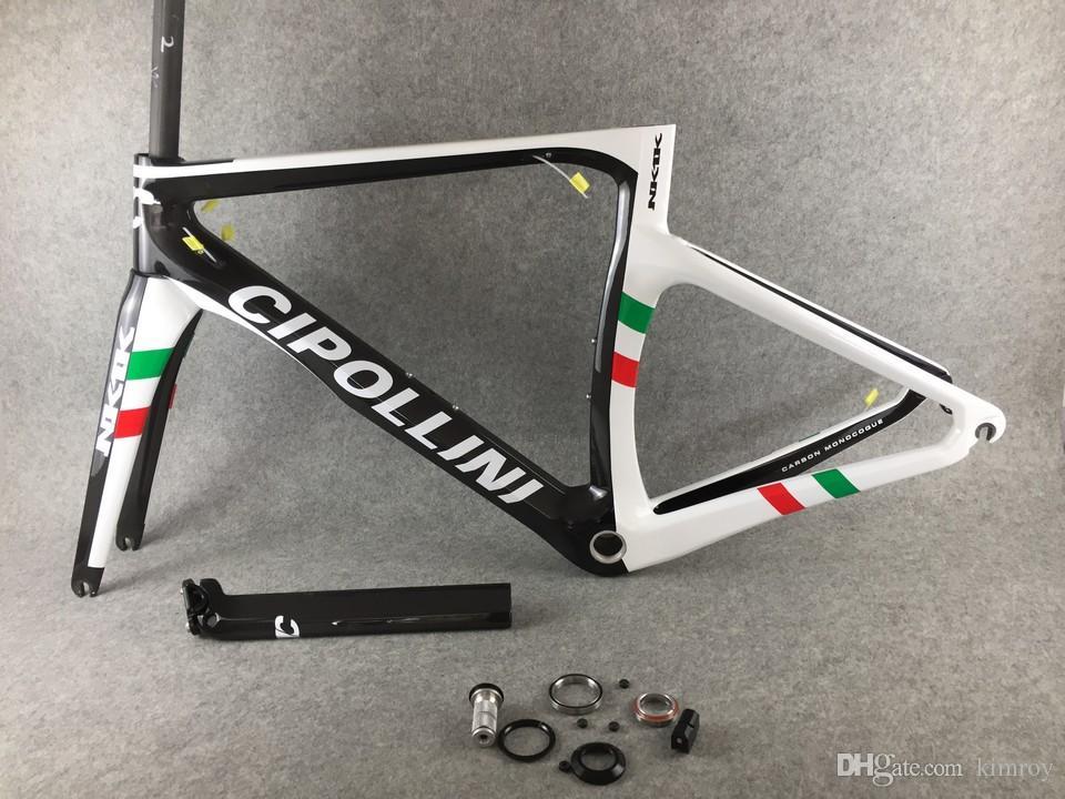 Campeão do mundo Cipollini NK1K bicicleta de estrada de carbono / bicicletas Quadro conjunto completo de carbono XXS XS S M L