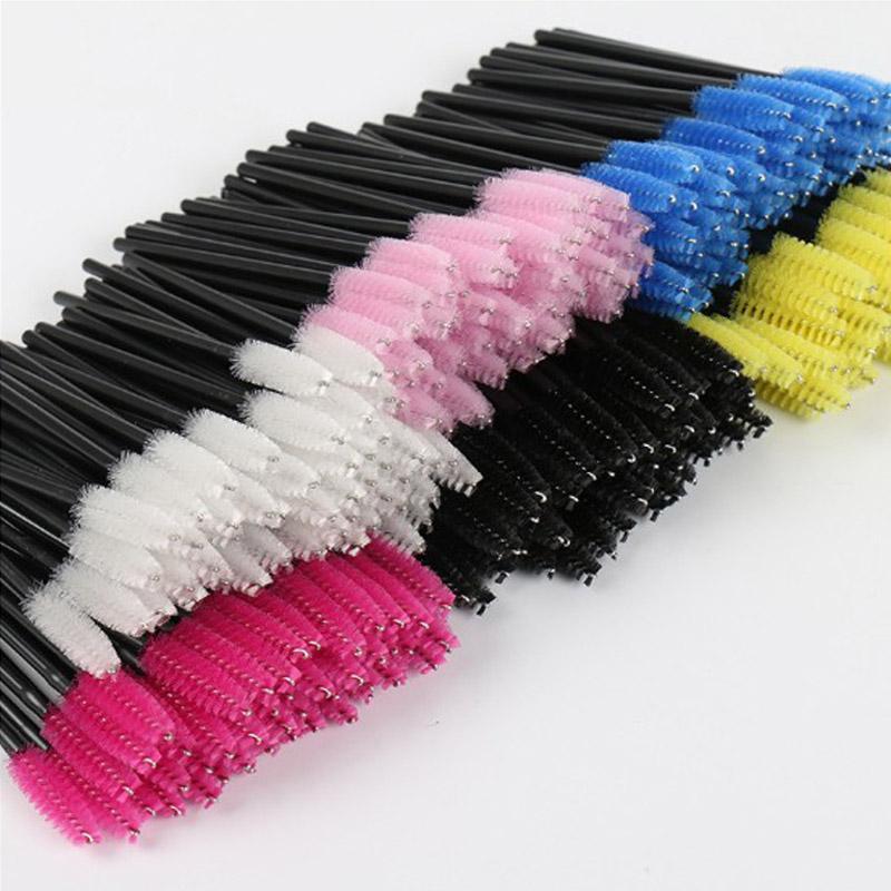 2000 pz all'ingrosso monouso pennello ciglia mascara bacchette applicatore ciglio pettine spazzole il trucco individuale smagliatura rimozione tampone micro