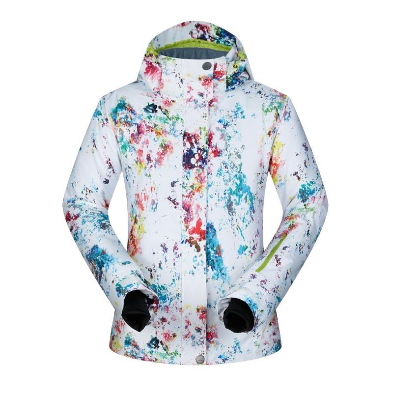 Brands Women Ski Jacket Waterproof Warm Snow Snowboard Jacket ... 86ac70b63