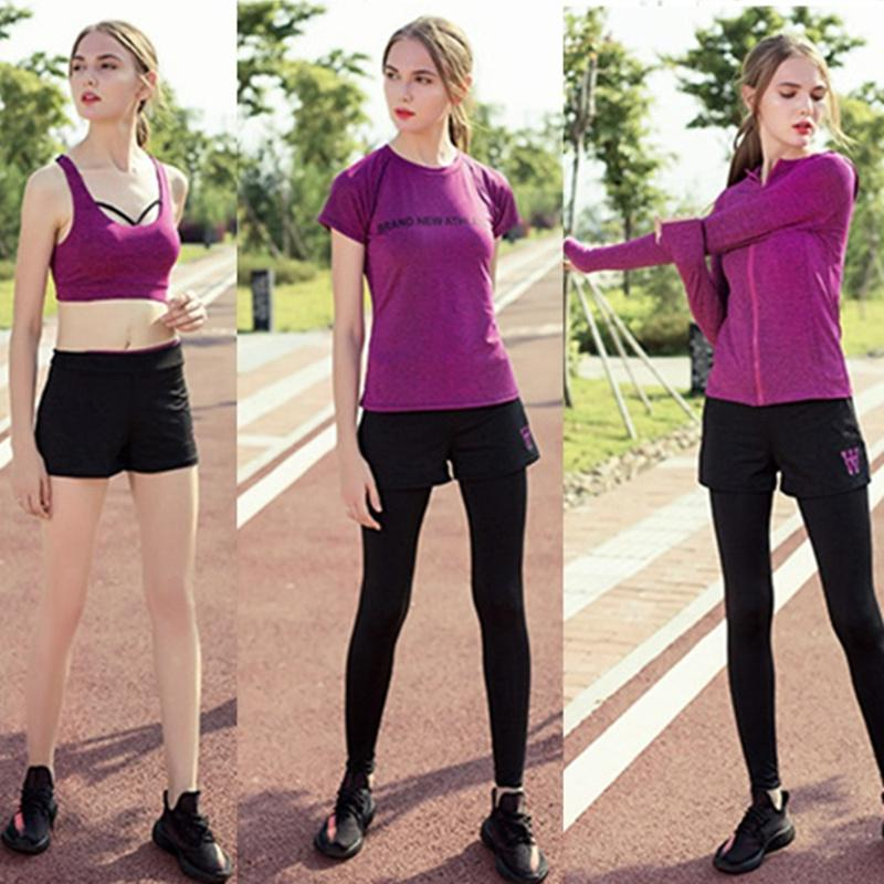a47078a0799 2019 Sportswear Women Suits Tracksuit Sport Gym Wear Running Suits Athletic  Tracksuit Sports Clothing Autumn Winter Running From Newhappyness