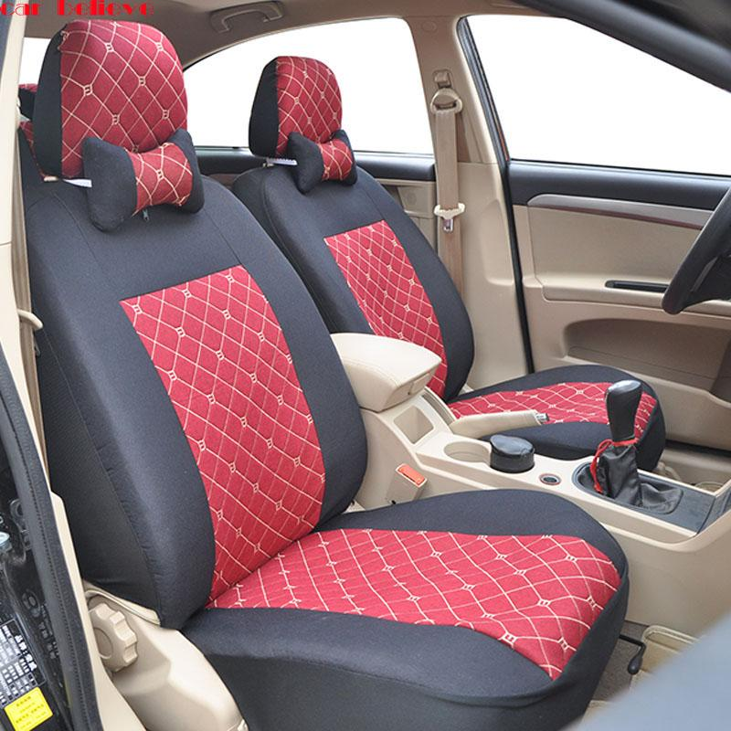Car Believe Seat Cover For Ibiza Leon 2 Fr Altea Ateca Accessories Vehicle Seats Protector Safety 1st Sciatica Cushion