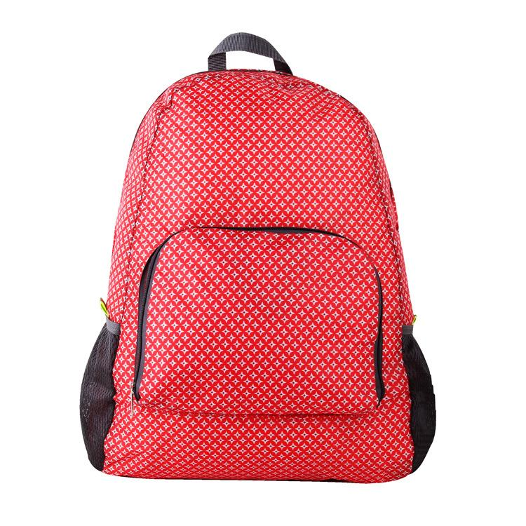 2018 Manufacturer direct selling good quality and cheap Outdoor foldable backpack casual skin lightweight backpack.