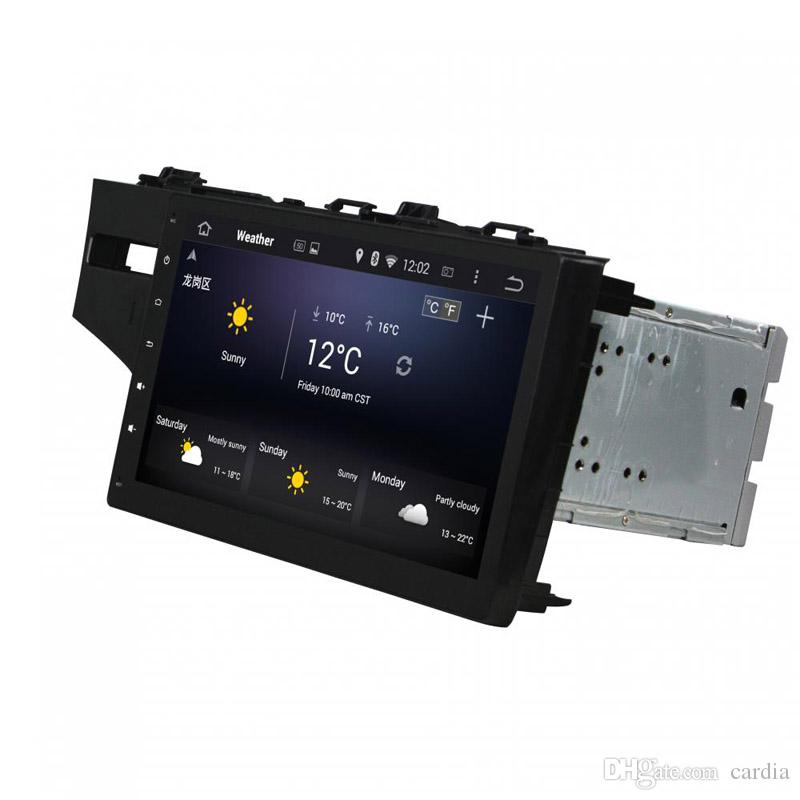 10.1inch 4GB RAM Andriod 8.0 Car DVD player for Honda Fit 2014-2015 with GPS,Steering Wheel Control,Bluetooth