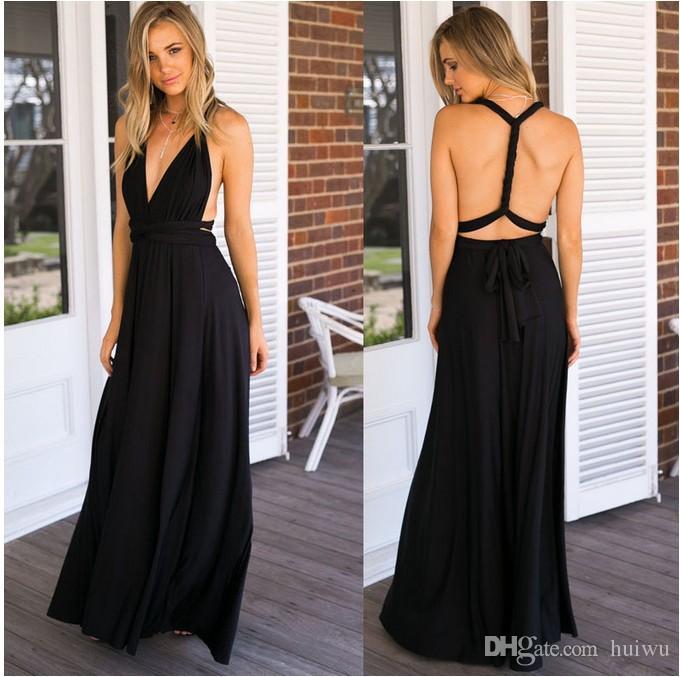 7babce68caf36 Satın Al Kadınlar Seksi Bandaj Uzun Parti Elbise Boho Maxi Kulübü Elbise  Multiway Nedime Cabrio Infinity Robe Longue Femme, $24.23 | DHgate.Com'da