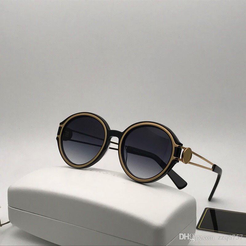 5189a500da Compre Nuevas Gafas De Sol De Diseñador De Moda 4342 Metal Redondo Marco  Estilo Retor Uv400 Protección Gafas Al Aire Libre De Calidad Superior A  $50.77 Del ...